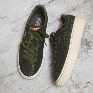 Puma Satin Sneakers